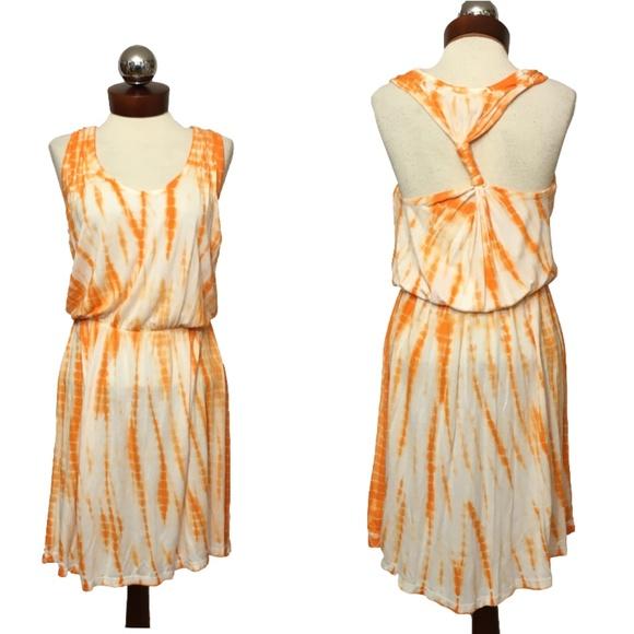 Young Fabulous & Broke Dresses & Skirts - YOUNG FABULOUS & BROKE tie dye racerback dress S